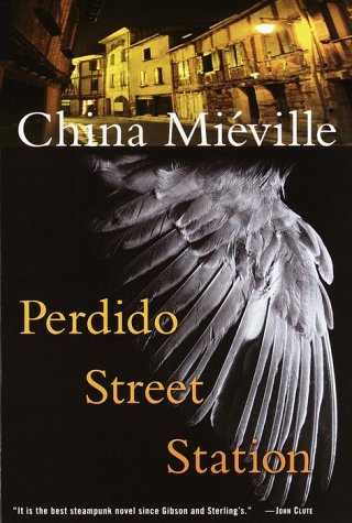 Perdido Street Station   2001 edition cover