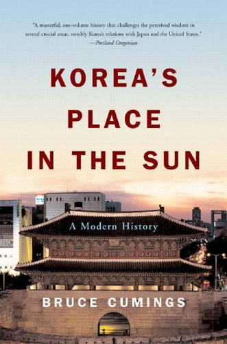 Korea's Place in the Sun A Modern History  2005 (Revised) edition cover