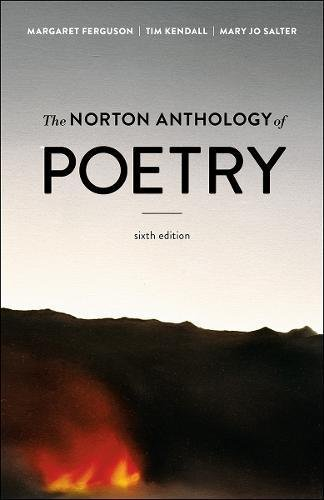 Norton Anthology of Poetry  6th 2018 9780393679021 Front Cover