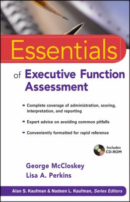 Essentials of Executive Functions Assessment   2012 edition cover