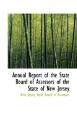 Annual Report of the State Board of Assessors of the State of New Jersey:   2008 edition cover