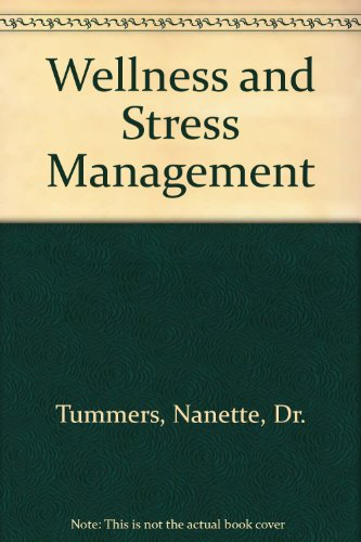Wellness and Stress Management  Revised 9780757565021 Front Cover