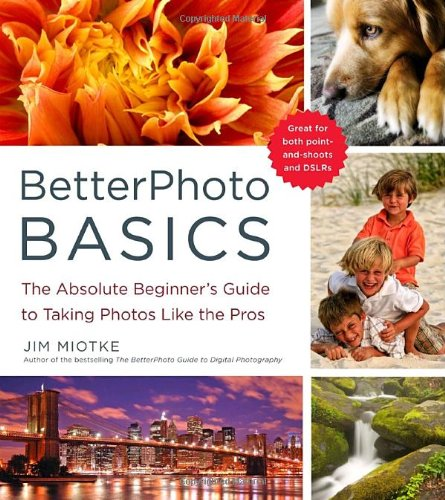 BetterPhoto Basics The Absolute Beginner's Guide to Taking Photos Like a Pro  2010 9780817405021 Front Cover
