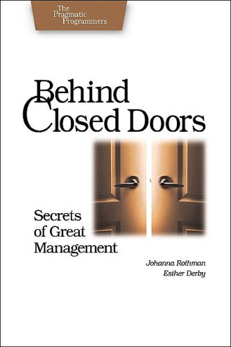 Behind Closed Doors Secrets of Great Management  2005 edition cover