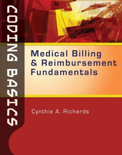 Coding Basics Medical Billing and Reimbursement Fundamentals  2010 edition cover