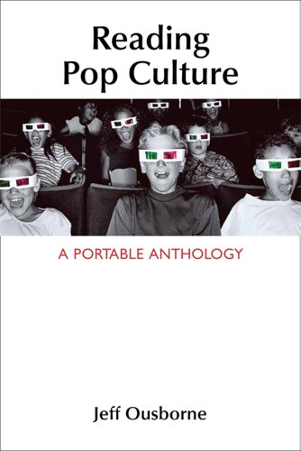 Reading Pop Culture A Portable Anthology  2013 edition cover