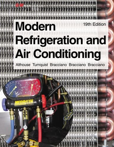 Modern Refrigeration and Air Conditioning  19th edition cover
