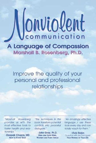Nonviolent Communication A Language of Compassion  1999 edition cover