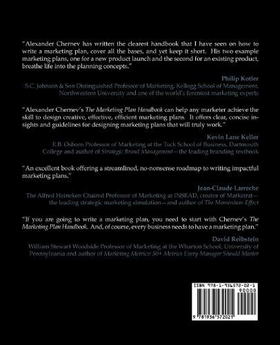 Marketing Plan Handbook N/A edition cover