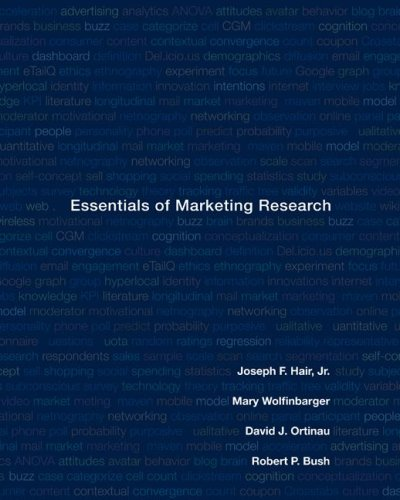 Essentials of Marketing Research   2008 edition cover