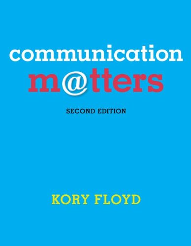 COMMUNICATION MATTERS-CONNECTP N/A edition cover