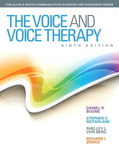 Voice and Voice Therapy  9th 2014 edition cover