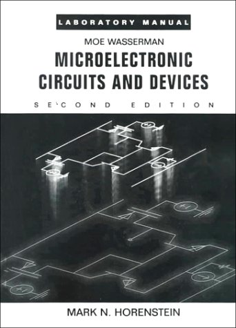 Microelectronic Circuitry  2nd 1996 (Lab Manual) edition cover