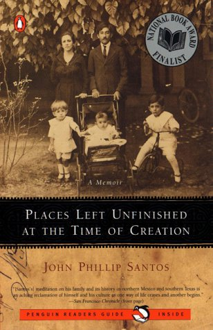Places Left Unfinished at the Time of Creation  N/A edition cover