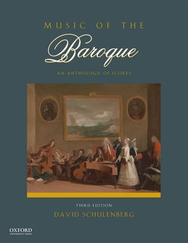 Music of the Baroque An Anthology of Scores 3rd 2014 edition cover