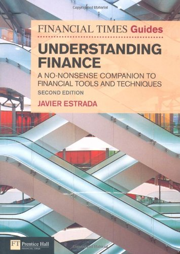 Understanding Finance A No-Nonsense Companion to Financial Tools and Techniques 2nd 2011 (Revised) 9780273738022 Front Cover