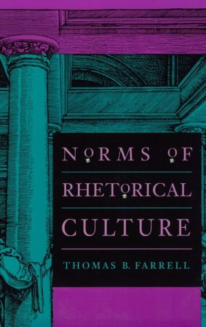 Norms of Rhetorical Culture   1993 edition cover