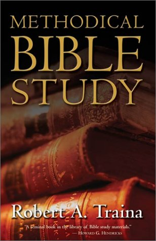 Methodical Bible Study   2002 edition cover