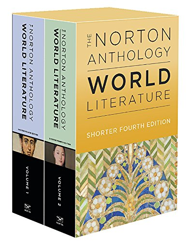 The Norton Anthology of World Literature:   2018 9780393656022 Front Cover