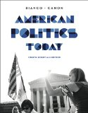 American Politics Today:   2014 edition cover