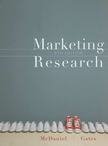 Marketing Research Essentials  8th 2010 edition cover