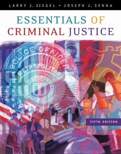 Essentials of Criminal Justice  5th 2007 (Revised) edition cover