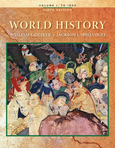World History, Volume I  6th 2010 edition cover
