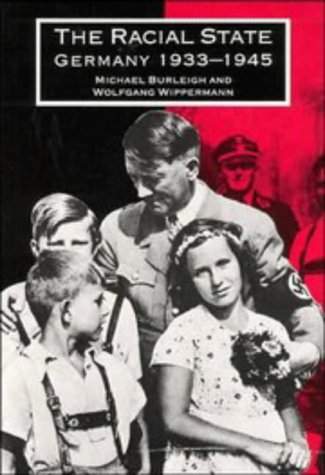 Racial State Germany 1933-1945  1991 edition cover