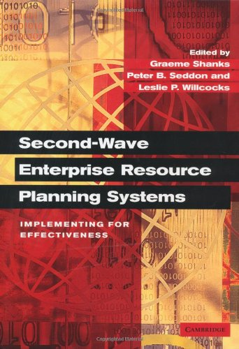 Second-Wave Enterprise Resource Planning Systems Implementing for Effectiveness  2003 9780521819022 Front Cover