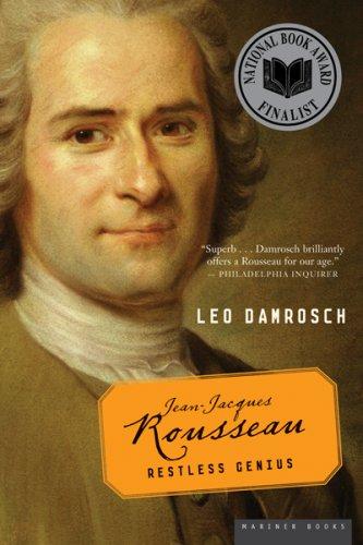 Jean-Jacques Rousseau Restless Genius  2006 edition cover