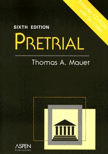 Pretrial  6th 2004 (Revised) edition cover