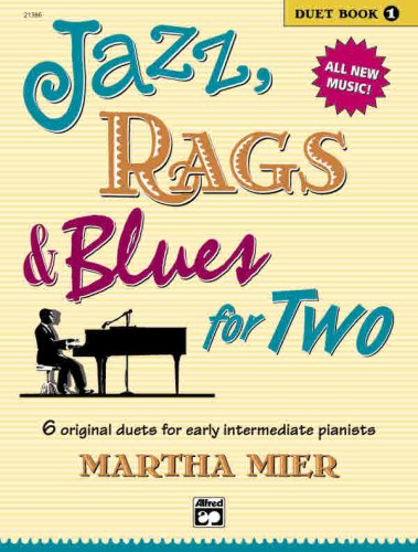 Jazz, Rags and Blues for Two   2003 edition cover