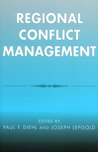 Regional Conflict Management   2002 9780742519022 Front Cover