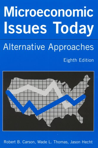Microeconomic Issues Today Alternative Approaches 8th 2005 (Revised) edition cover