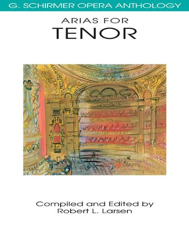 Arias for Tenor  N/A edition cover