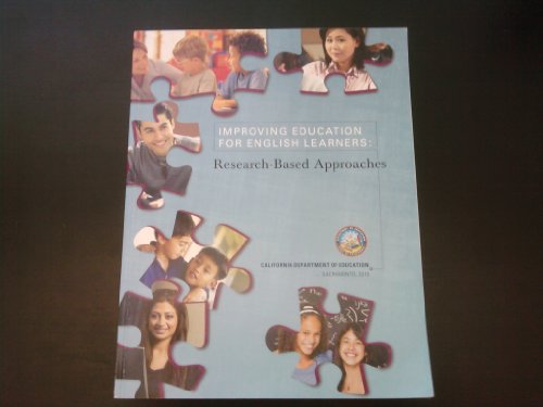 Improving Education for English Learners Research-Based Approaches  2010 edition cover