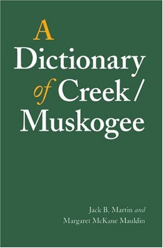 Dictionary of Creek/Muskogee   2005 edition cover
