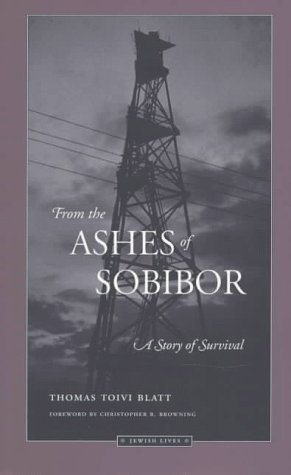From the Ashes of Sobibor A Story of Survival  1997 edition cover