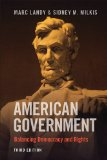 American Government Enduring Principles, Critical Choices 3rd 2014 (Revised) edition cover