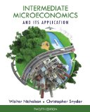 Intermediate Microeconomics and Its Application  12th 2015 edition cover