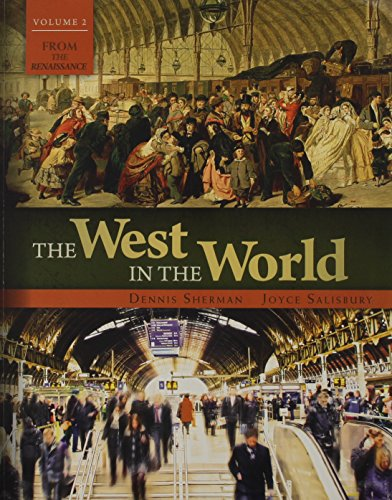 The West in the World + Connect Plus 1 Term Access Card:   2013 edition cover