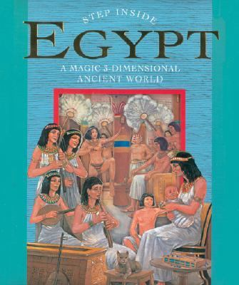 Egypt A Magic 3-Dimensional Ancient World N/A 9781402753022 Front Cover