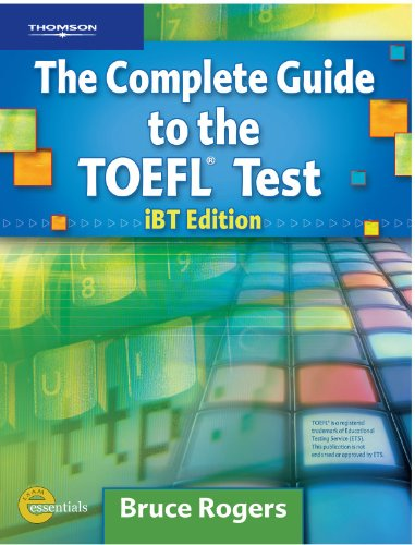 Complete Guide to the TOEFL� Test  4th 2007 edition cover