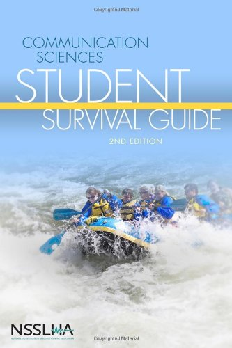 Communication Sciences Student Survival Guide  2nd 2010 edition cover