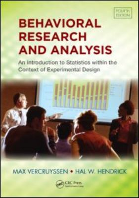 Behavioral Research and Analysis  4th 2011 (Revised) edition cover