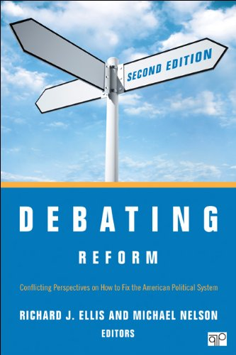 Debating Reform: Conflicting Perspectives on How to Fix the American Political System  2013 edition cover