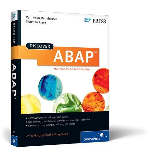 Discover Abap - Der Praktische Einstieg  2nd 2011 edition cover