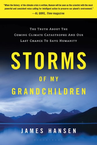 Storms of My Grandchildren The Truth about the Coming Climate Catastrophe and Our Last Chance to Save Humanity  2011 edition cover