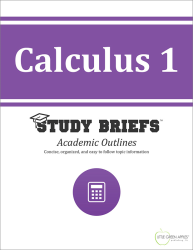 Calculus 1 cover