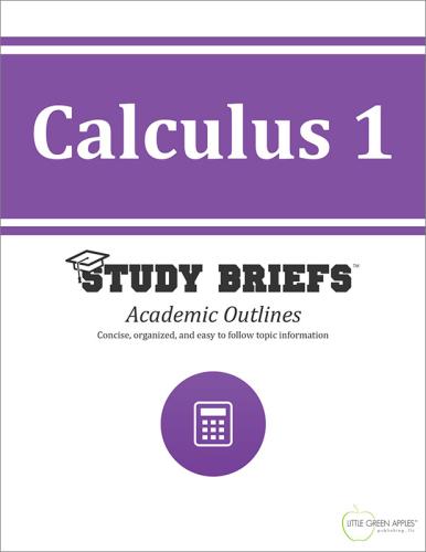 Calculus 1 cover